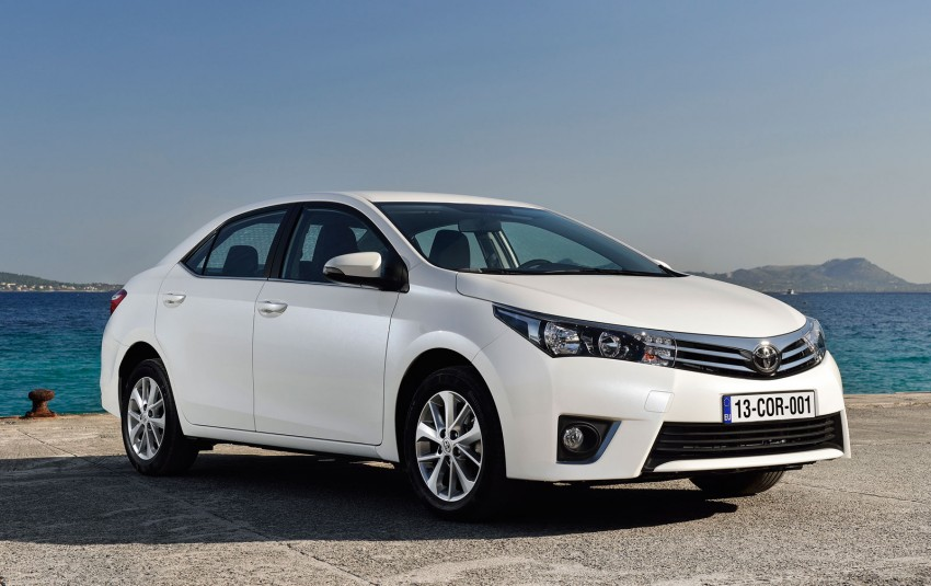 2014 Toyota Corolla – European production starts in Turkey, new batch of images released Image #185826