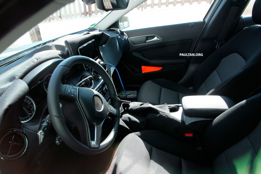 Mercedes-Benz GLA-Class – first shots of interior Image #188555