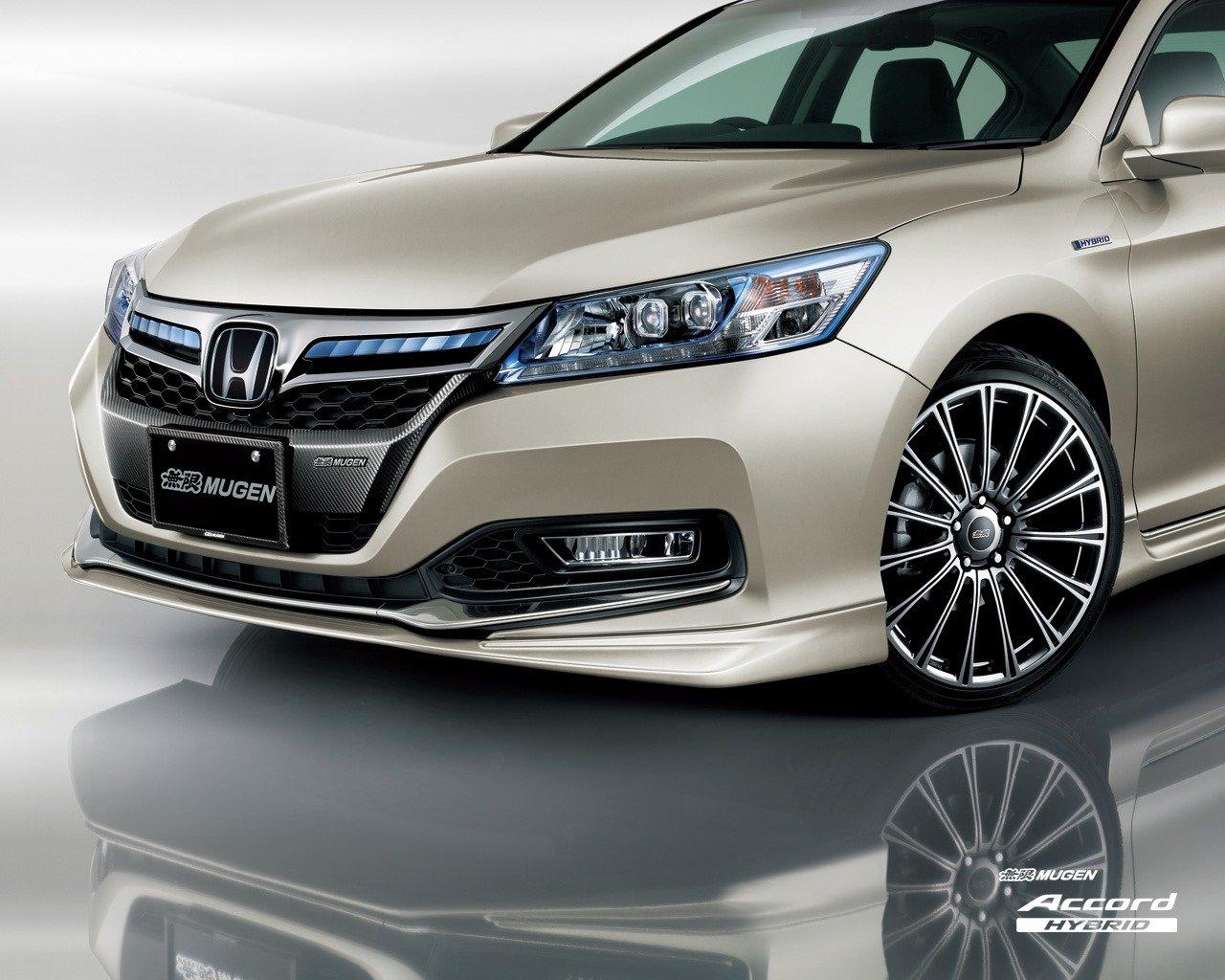 Honda Accord Hybrid By Mugen Bodykit Sports Suspension