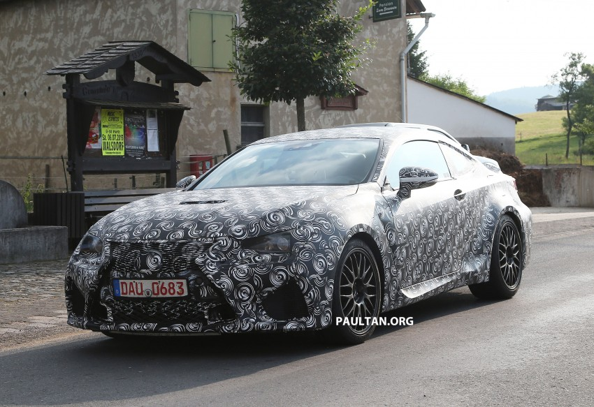 SPYSHOTS: Lexus IS-F Coupe testing in Germany Image #187609