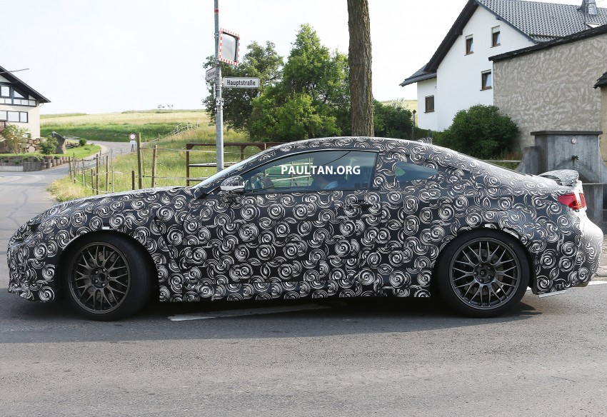 SPYSHOTS: Lexus IS-F Coupe testing in Germany Image #187611