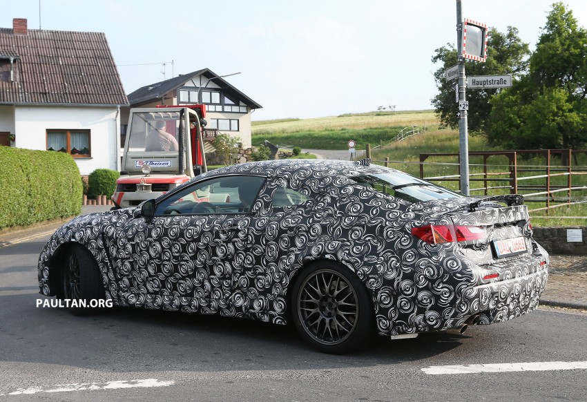 SPYSHOTS: Lexus IS-F Coupe testing in Germany Image #187612