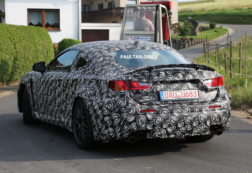 SPYSHOTS: Lexus IS-F Coupe testing in Germany Image #187613