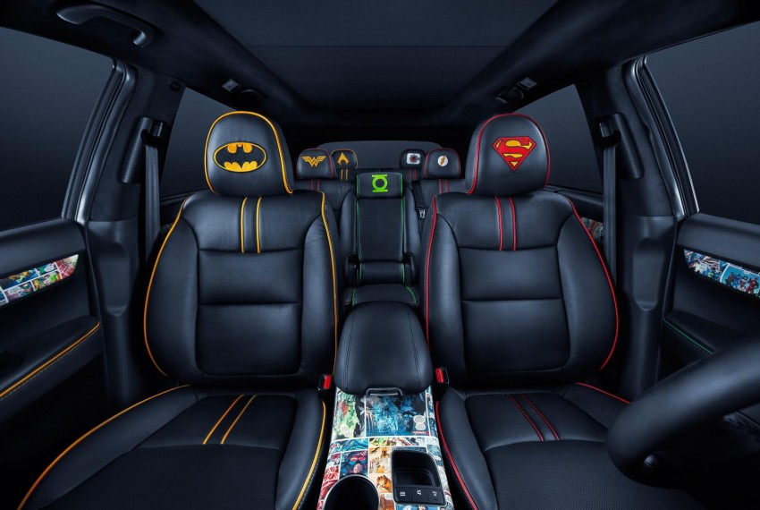 Superheroes unite on Justice League Kia Sorento Image #189998