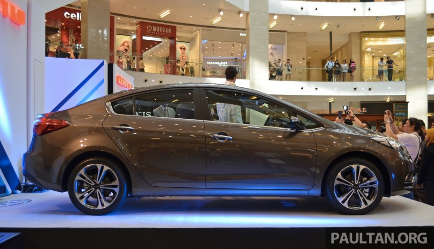 Kia Cerato launched – 1.6 RM99,888, 2.0 RM118,888 Image #184602