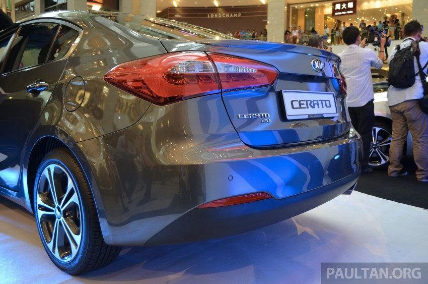 Kia Cerato launched – 1.6 RM99,888, 2.0 RM118,888 Image #184590