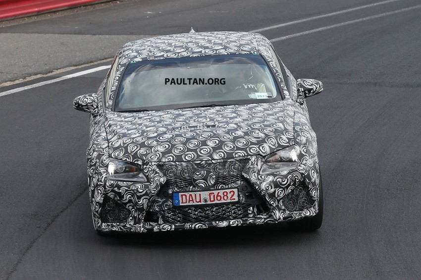 SPYSHOTS: Lexus IS-F Coupe testing in Germany Image #187929
