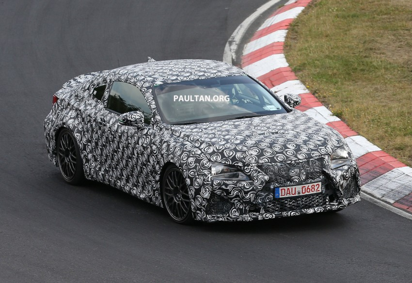 SPYSHOTS: Lexus IS-F Coupe testing in Germany Image #187930