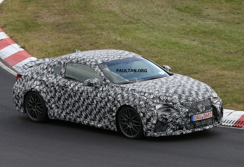 SPYSHOTS: Lexus IS-F Coupe testing in Germany Image #187931