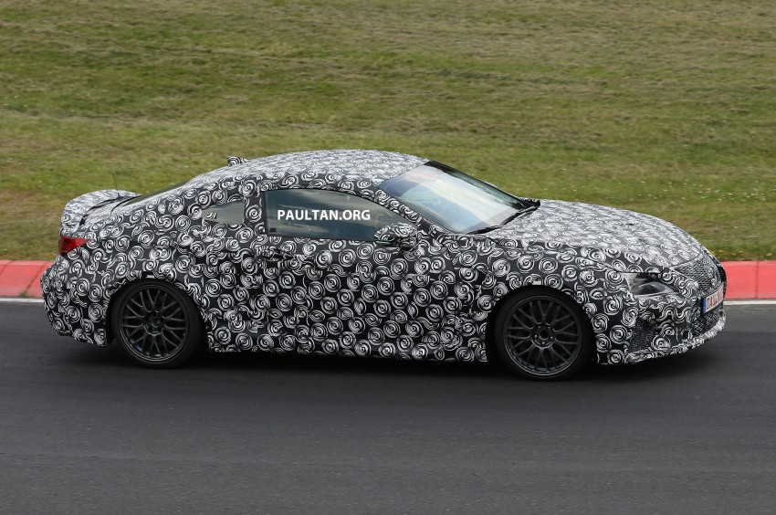 SPYSHOTS: Lexus IS-F Coupe testing in Germany Image #187933