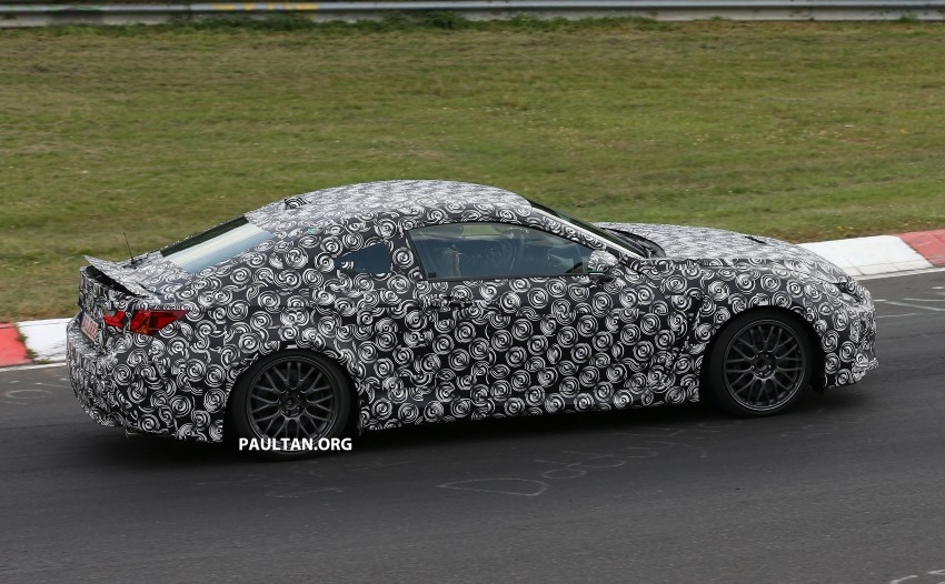 SPYSHOTS: Lexus IS-F Coupe testing in Germany Image #187934