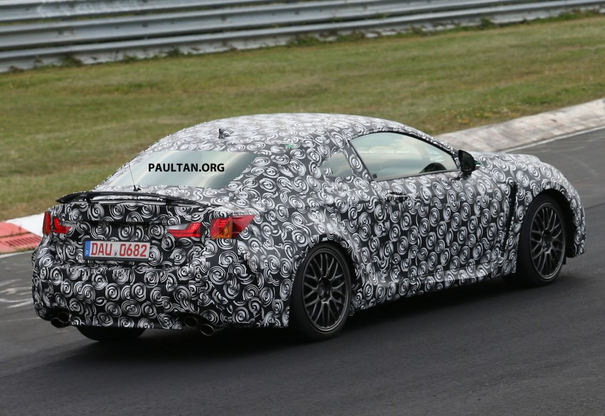 SPYSHOTS: Lexus IS-F Coupe testing in Germany Image #187935