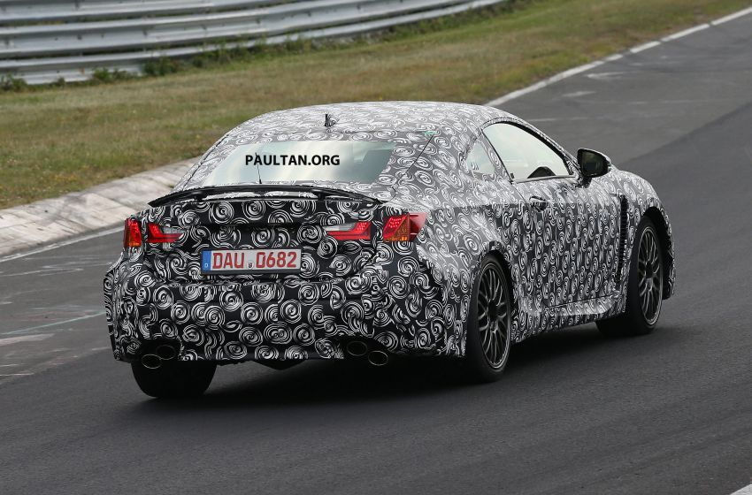 SPYSHOTS: Lexus IS-F Coupe testing in Germany Image #187936
