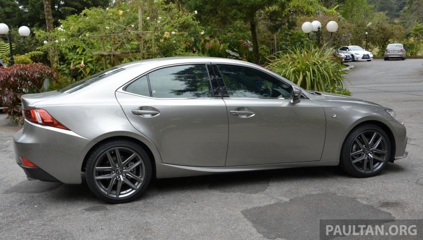 F Sport Lexus >> DRIVEN: Lexus IS 250 Luxury and F Sport sampled Paul Tan ...