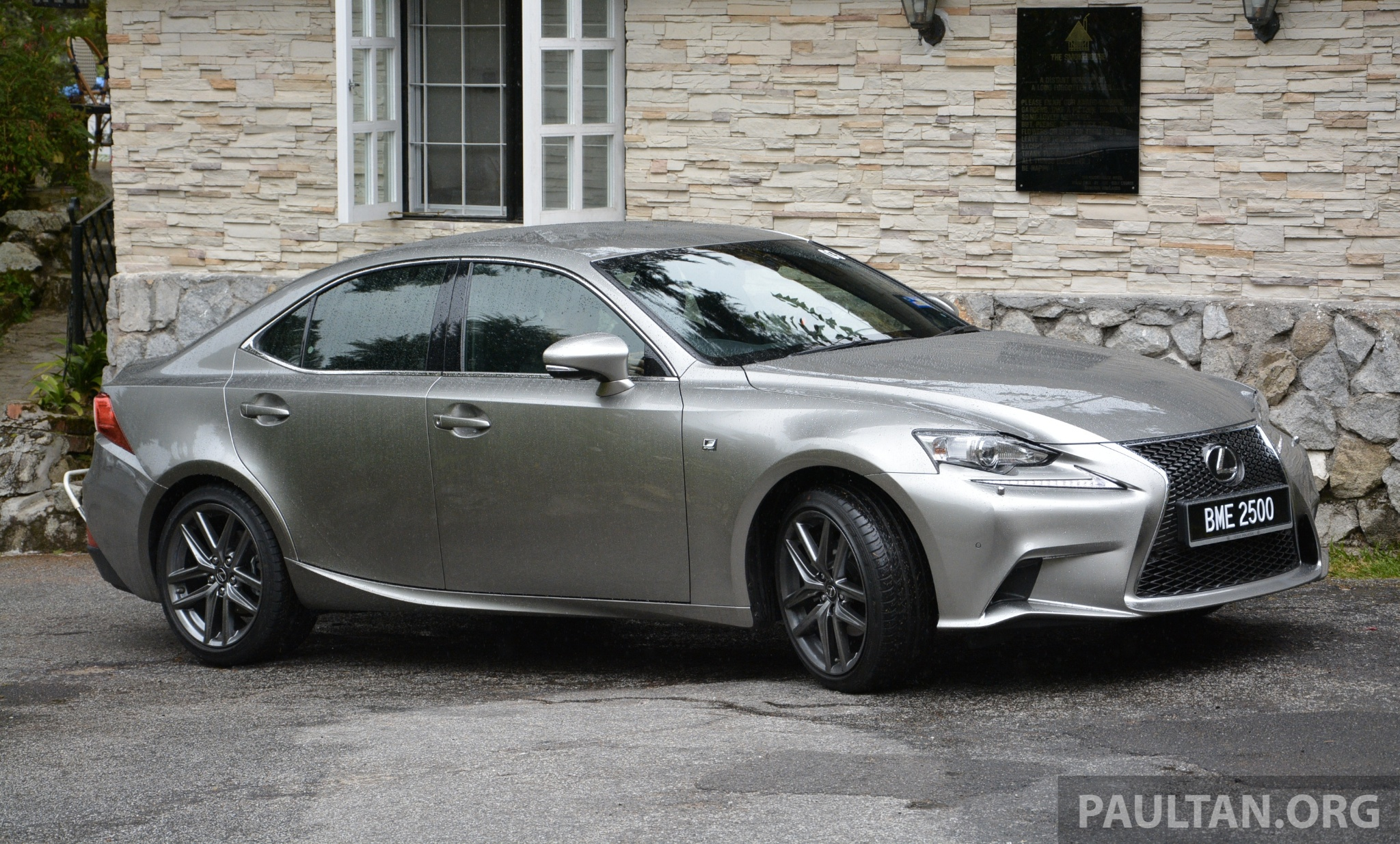 driven lexus is 250 luxury and f sport sampled image 184938
