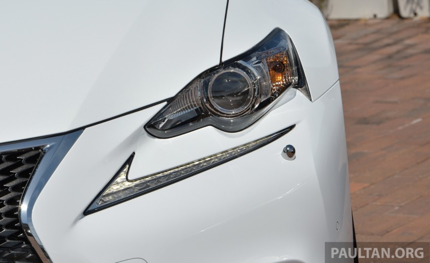 DRIVEN: Lexus IS 250 Luxury and F Sport sampled Image #184971