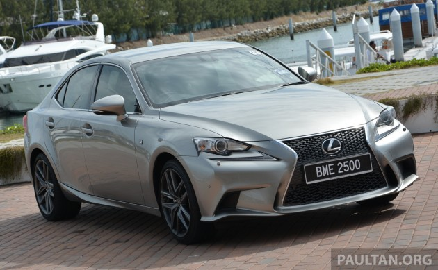 driven 2013 lexus is 250 luxury and f sport sampled over 500 km run. Black Bedroom Furniture Sets. Home Design Ideas