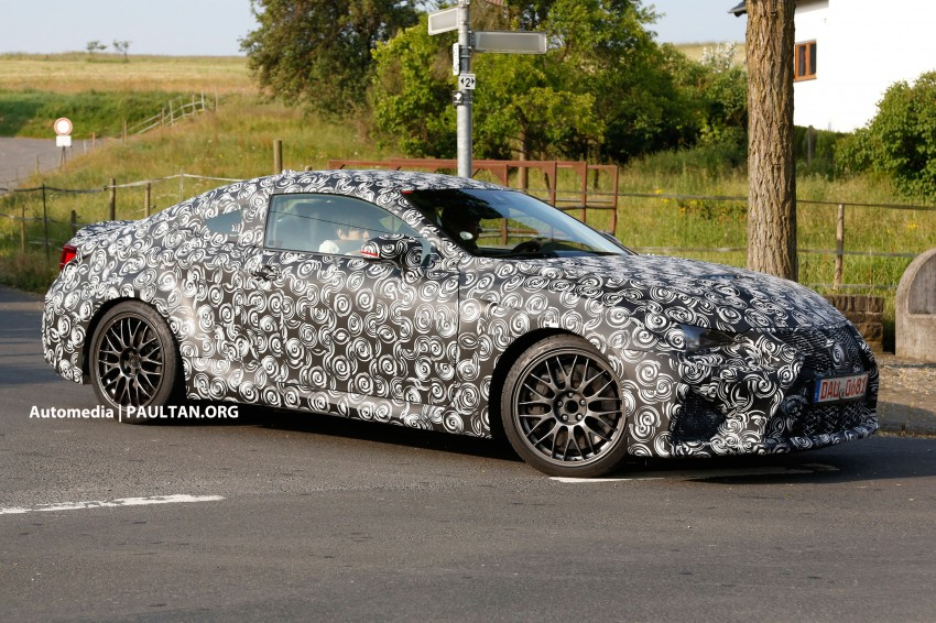 SPYSHOTS: Lexus IS-F Coupe testing in Germany Image #187712