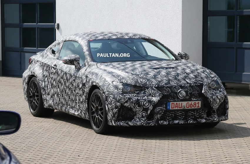 SPYSHOTS: Lexus IS-F Coupe testing in Germany Image #187615