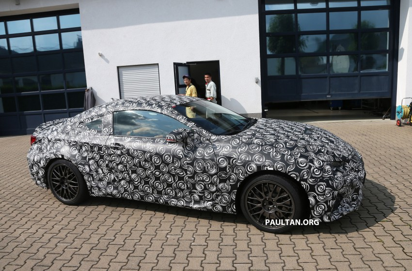 SPYSHOTS: Lexus IS-F Coupe testing in Germany Image #187617