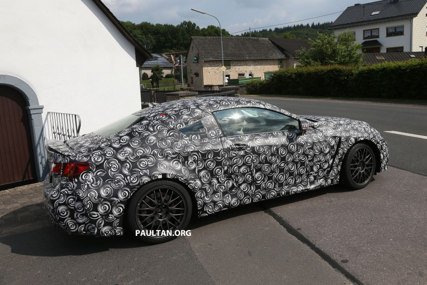 SPYSHOTS: Lexus IS-F Coupe testing in Germany Image #187619