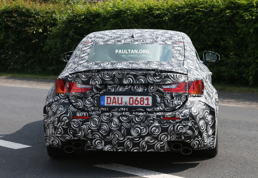 SPYSHOTS: Lexus IS-F Coupe testing in Germany Image #187620