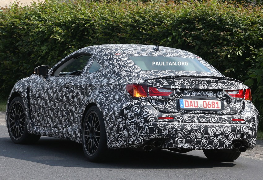 SPYSHOTS: Lexus IS-F Coupe testing in Germany Image #187621