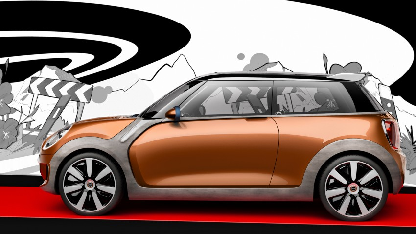 MINI Vision Concept previews upcoming F56 hatch Image #189618
