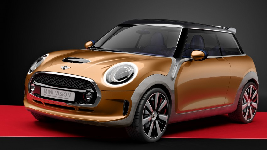 MINI Vision Concept previews upcoming F56 hatch Image #189621