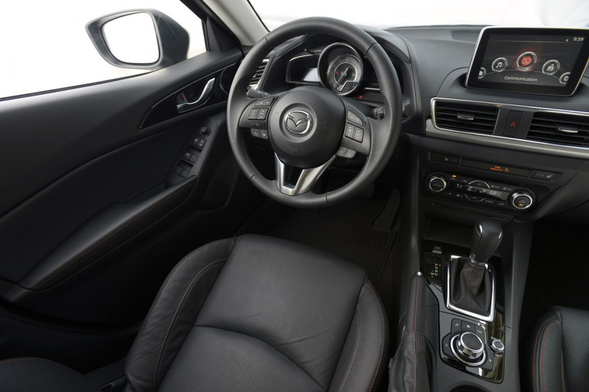 2014 Mazda 3 Hatchback – mega gallery from the USA Image #186327