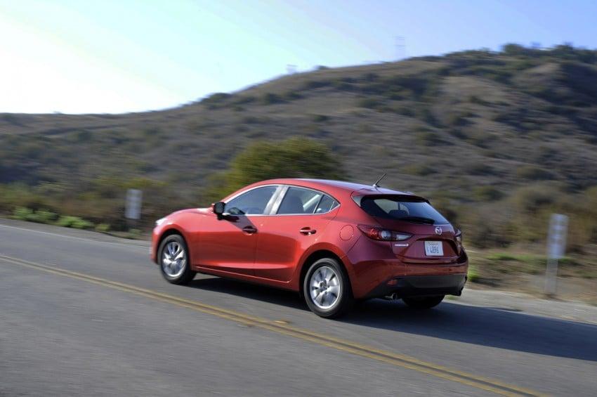 2014 Mazda 3 Hatchback – mega gallery from the USA Image #186329