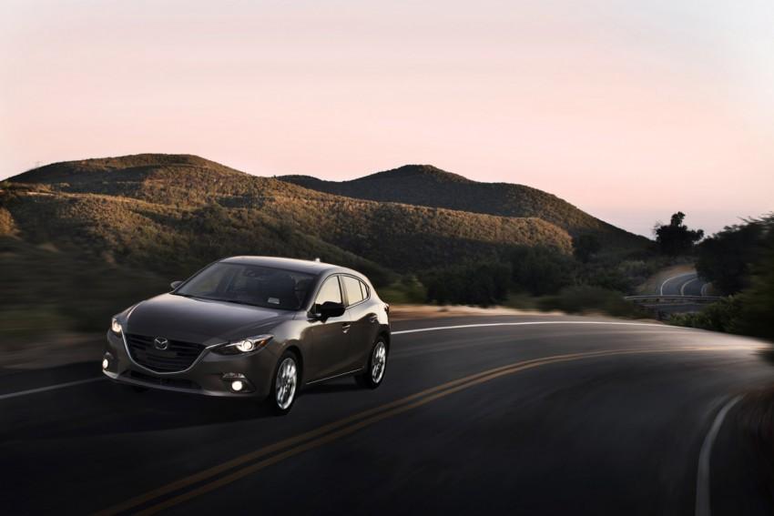 2014 Mazda 3 Hatchback – mega gallery from the USA Image #186345