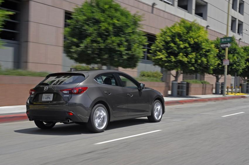 2014 Mazda 3 Hatchback – mega gallery from the USA Image #186356