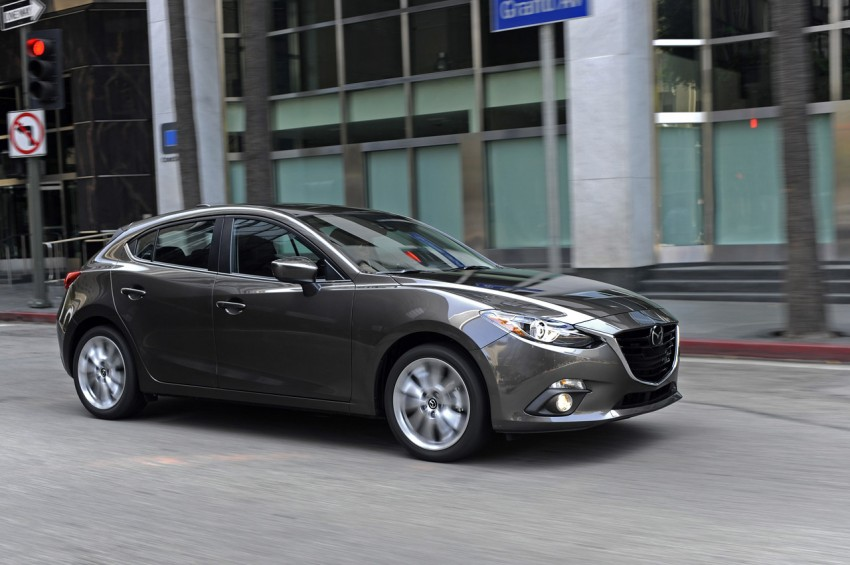 2014 Mazda 3 Hatchback – mega gallery from the USA Image #186358