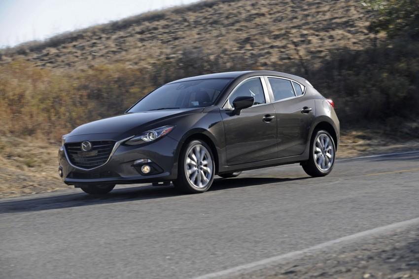 2014 Mazda 3 Hatchback – mega gallery from the USA Image #186361