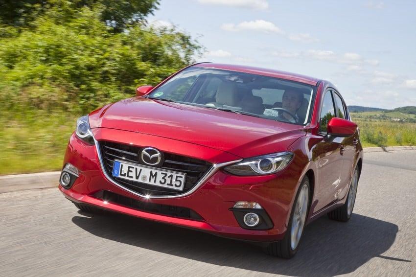2014 Mazda 3 Sedan and Hatchback Mega Gallery Image #186993
