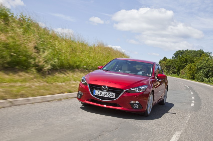 2014 Mazda 3 Sedan and Hatchback Mega Gallery Image #186987