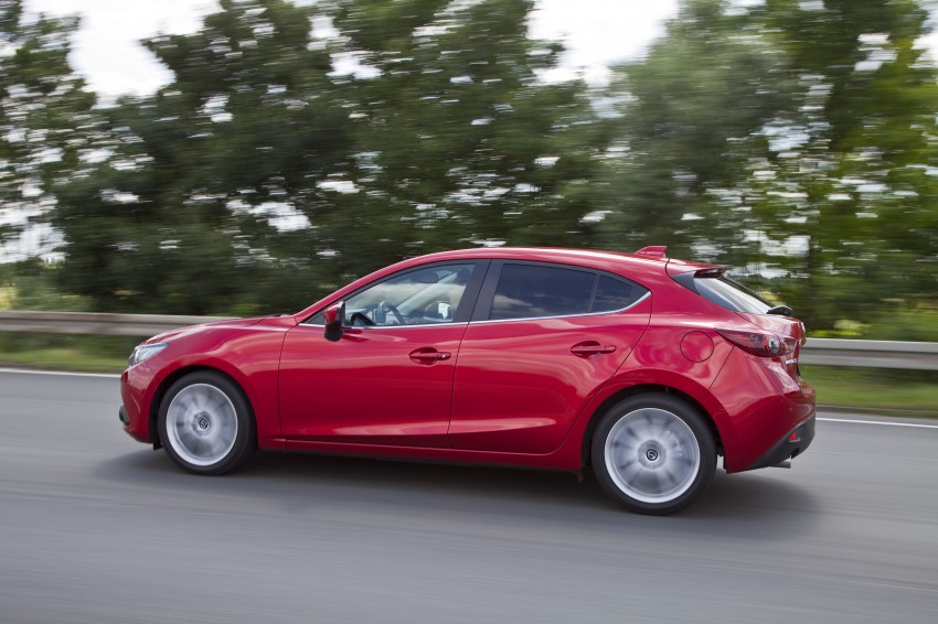 2014 Mazda 3 Sedan and Hatchback Mega Gallery Image #186974