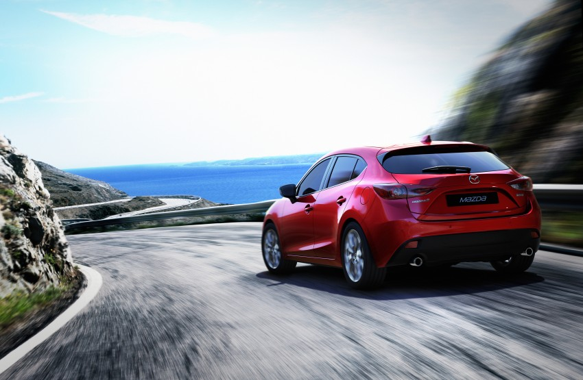 2014 Mazda 3 Sedan and Hatchback Mega Gallery Image #186967