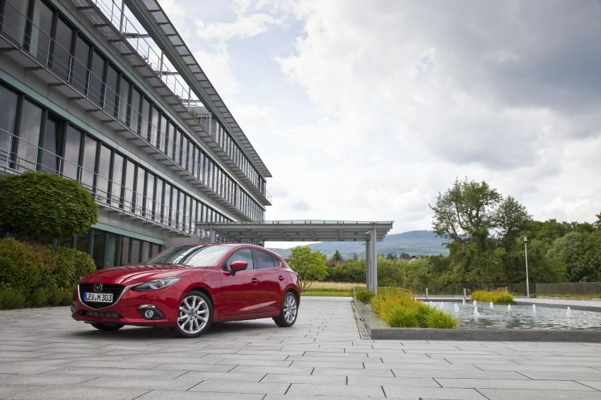 2014 Mazda 3 Sedan and Hatchback Mega Gallery Image #186925