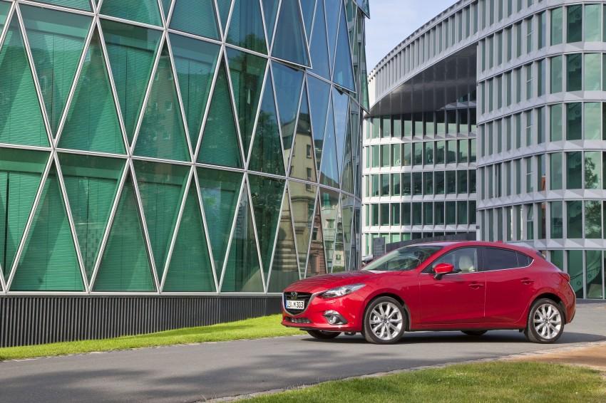 2014 Mazda 3 Sedan and Hatchback Mega Gallery Image #186923