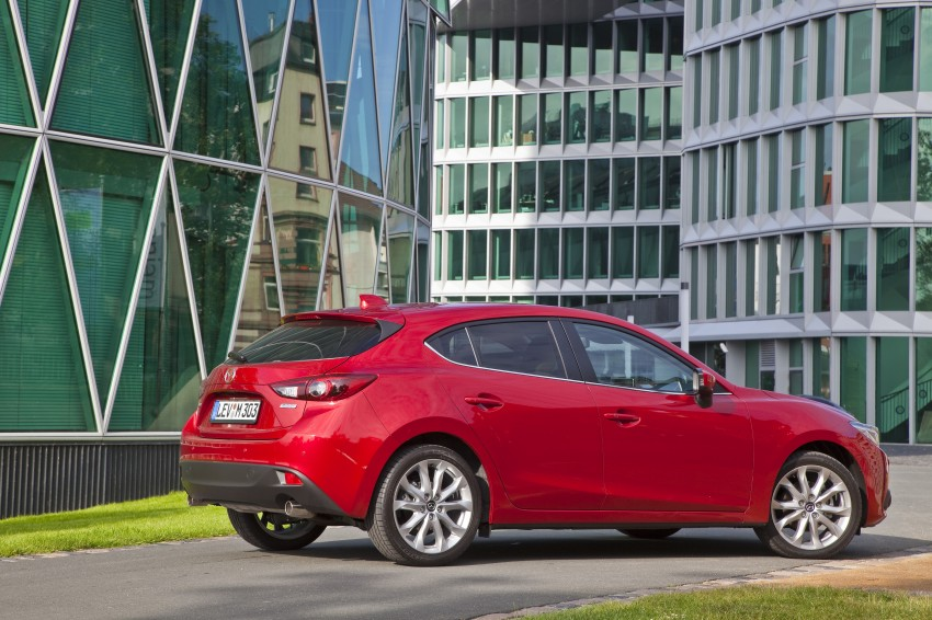 2014 Mazda 3 Sedan and Hatchback Mega Gallery Image #186914