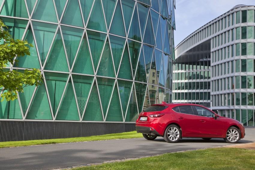 2014 Mazda 3 Sedan and Hatchback Mega Gallery Image #186915
