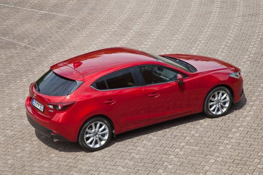 2014 Mazda 3 Sedan and Hatchback Mega Gallery Image #186912