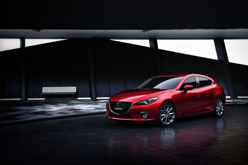 2014 Mazda 3 Sedan and Hatchback Mega Gallery Image #186908