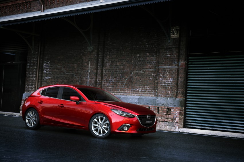 2014 Mazda 3 Sedan and Hatchback Mega Gallery Image #186909