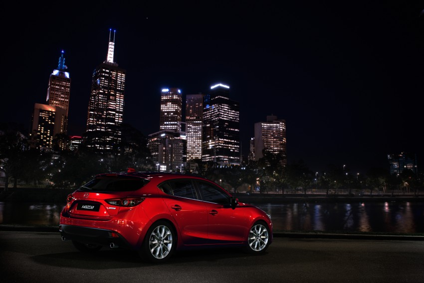 2014 Mazda 3 Sedan and Hatchback Mega Gallery Image #186911