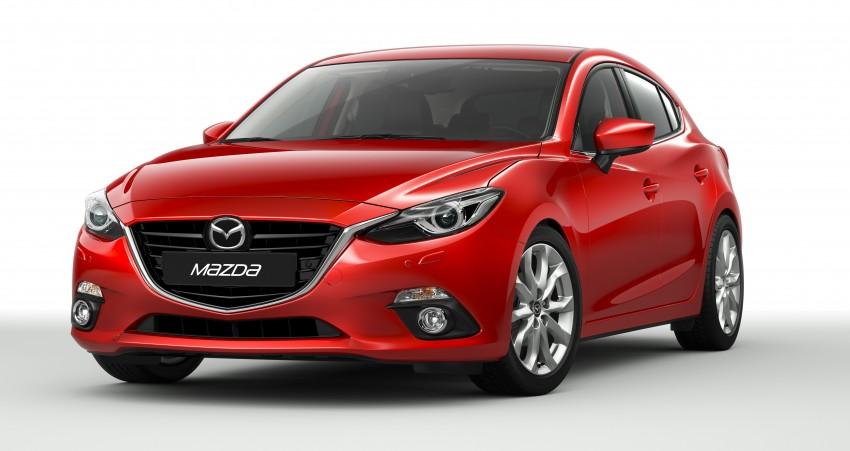 2014 Mazda 3 Sedan and Hatchback Mega Gallery Image #186903