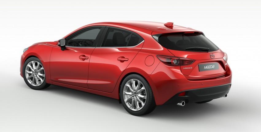 2014 Mazda 3 Sedan and Hatchback Mega Gallery Image #186900