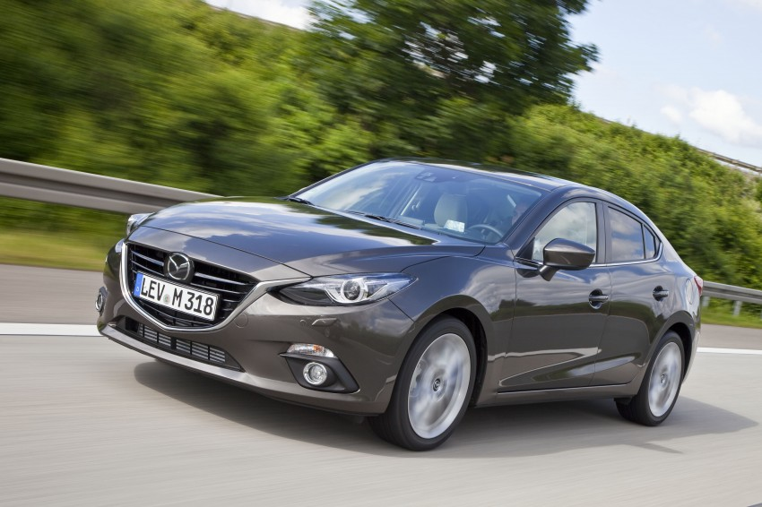 2014 Mazda 3 Sedan and Hatchback Mega Gallery Image #186957